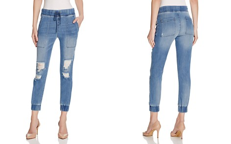 Bella Dahl Distressed Denim Jogger Pants - Bloomingdale's_2