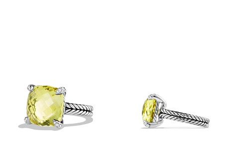 David Yurman Châtelaine Ring with Lemon Citrine and Diamonds - Bloomingdale's_2