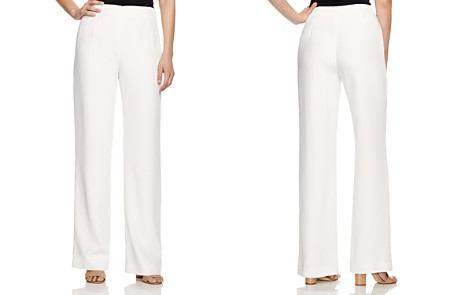 Lafayette 148 New York Studio Wide Leg Pants - Bloomingdale's_2