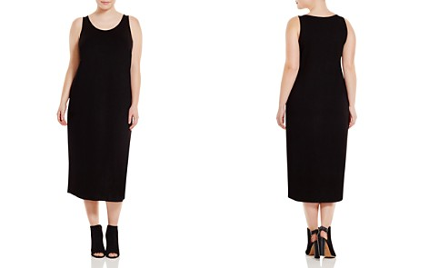 Eileen Fisher Plus System Scoop Neck Maxi Dress - Bloomingdale's_2