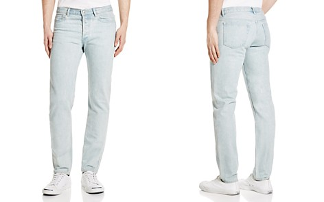 A.P.C. Petit New Standard Skinny Fit Jeans in Washed Indigo - Bloomingdale's_2