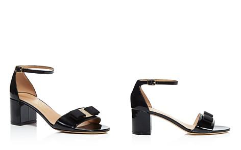Salvatore Ferragamo Women's Gavina Ankle Strap Block Heel Sandals - Bloomingdale's_2