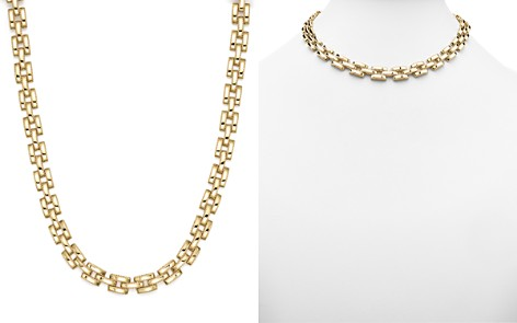 "Roberto Coin 18K Yellow Gold Retro Collar Necklace, 16"" - Bloomingdale's_2"