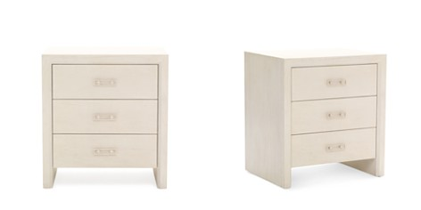 Mitchell Gold Bob Williams Malibu Bedroom 3-Drawer Bedside Table - Bloomingdale's_2