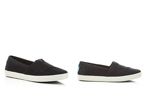 TOMS Women's Avalon Layered Mesh Slip-On Sneakers - Bloomingdale's_2