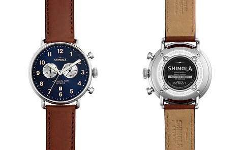 Shinola The Canfield Chronograph Watch, 43mm - Bloomingdale's_2