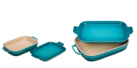 Le Creuset Rectangular Dish with Platter Lid - Bloomingdale's_2