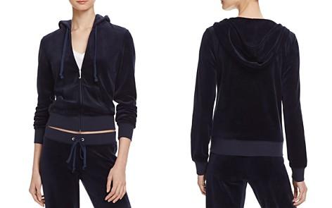 Juicy Couture Black Label Robertson Velour Zip Hoodie - Bloomingdale's_2