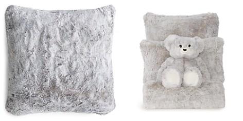 "Hudson Park Frosted Faux Fur Decorative Pillow, 20"" x 20"" - 100% Exclusive - Bloomingdale's Registry_2"