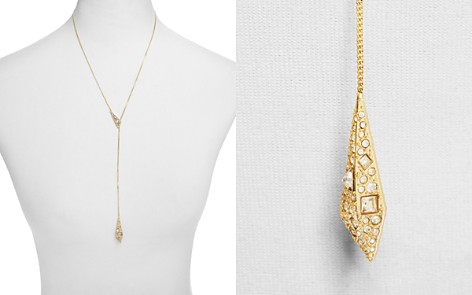 "Alexis Bittar Crystal Encrusted Origami Lariat Necklace, 21"" - 100% Exclusive - Bloomingdale's_2"