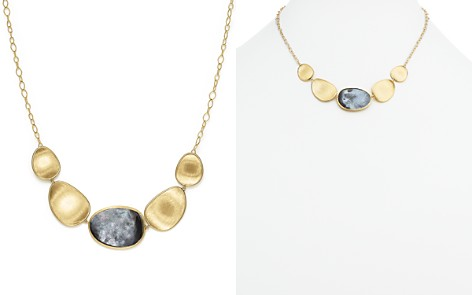 "Marco Bicego 18K Yellow Gold Lunaria Black Mother-Of-Pearl Short Necklace, 16.5"" - Bloomingdale's_2"