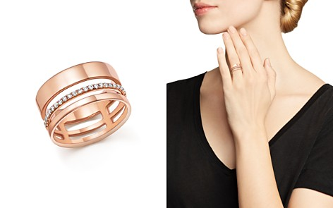 Diamond Cigar Band in 14K Rose Gold, .20 ct. t.w. - 100% Exclusive - Bloomingdale's_2