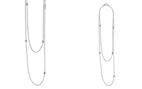 "LAGOS Sterling Silver Chain Necklace with Caviar Icon Stations, 36"" - Bloomingdale's_2"