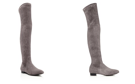 Delman Stretch Suede Over the Knee Boots - Bloomingdale's_2