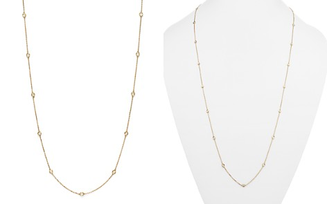 Diamond Station Long Necklace in 14K Yellow Gold, 1.0 ct. t.w. - 100% Exclusive - Bloomingdale's_2