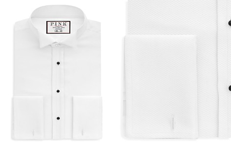 Thomas Pink Marcella Wing Evening Regular Fit French Cuff Dress Shirt - Bloomingdale's_2
