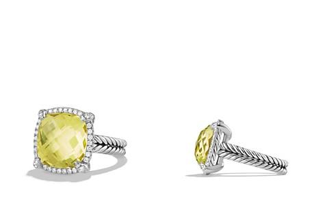 David Yurman Châtelaine Pavé Bezel Ring with Lemon Citrine and Diamonds - Bloomingdale's_2