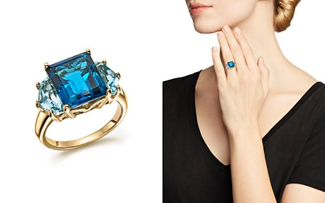 London and Sky Blue Topaz Statement Ring in 14K Yellow Gold - 100% Exclusive - Bloomingdale's_2