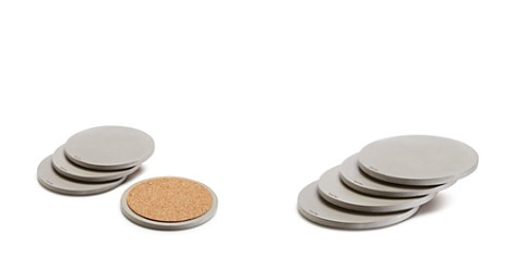 Owen & Fred Concrete Coasters, Set of 4 - Bloomingdale's_2