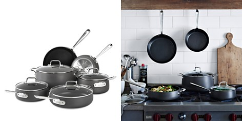 All-Clad Hard Anodized Nonstick 10-Piece Cookware Set - Bloomingdale's_2