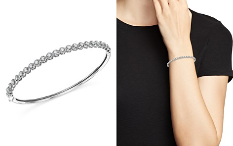 KC Designs Diamond Bangle in 14K White Gold, .75 ct. t.w. - Bloomingdale's_2