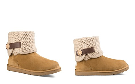 UGG® Shaina Knit Cuff Booties - Bloomingdale's_2
