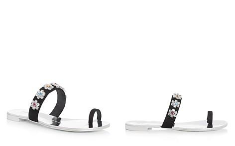 Giuseppe Zanotti Women's Nuvorock Swarovski Crystal Embellished Slide Sandals - Bloomingdale's_2