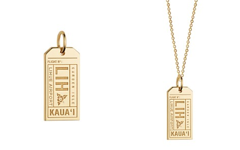 Jet Set Candy Kauai, Hawaii LIH Luggage Tag Charm - Bloomingdale's_2