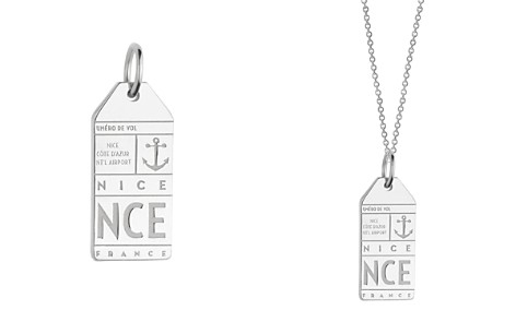 Jet Set Candy Nice, France NCE Luggage Tag Charm - Bloomingdale's_2