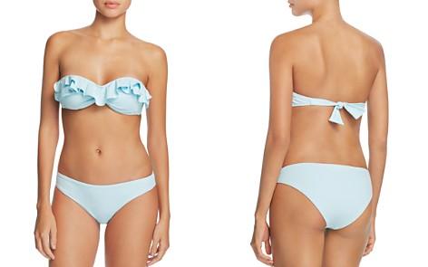 Eberjey So Solid Rafaella Bandeau Bikini Top & So Solid Annia Bikini Bottom - Bloomingdale's_2