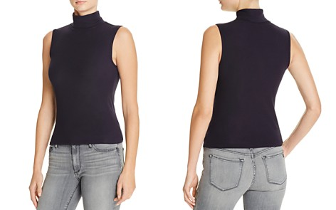 Theory Wendel Ribbed Turtleneck Top - Bloomingdale's_2