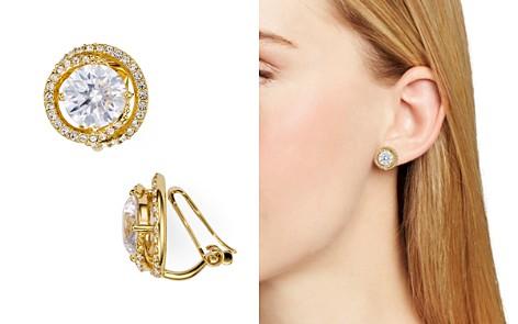 Nadri Round Clip On Earrings Bloomingdale S 2