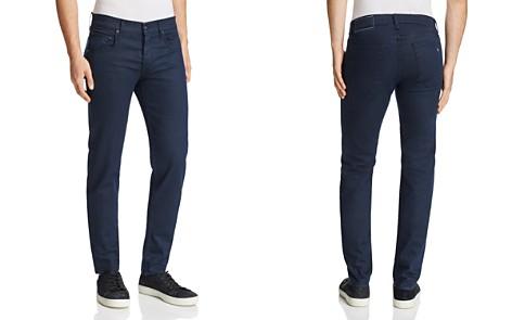 rag & bone Standard Issue Fit 2 Slim Fit Jeans in Coated Navy - Bloomingdale's_2