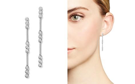 Diamond Linear Drop Earrings in 14K White Gold, .35 ct. t.w. - Bloomingdale's_2