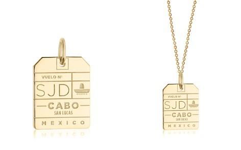Jet Set Candy SJD Los Cabos Luggage Tag Charm - Bloomingdale's_2