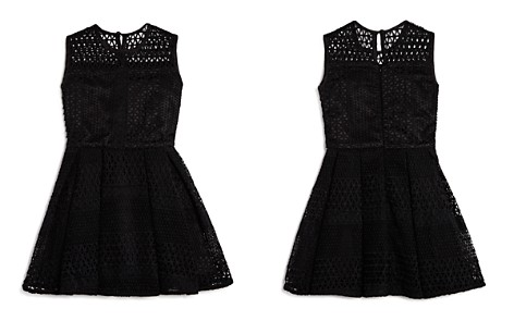 Bardot Junior Girls' Geo Patterned Mesh Dress - Big Kid - Bloomingdale's_2
