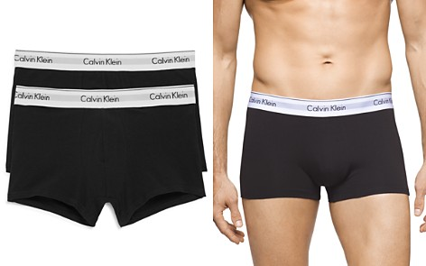Calvin Klein Modern Cotton Stretch Trunks - Pack of 2 - Bloomingdale's_2