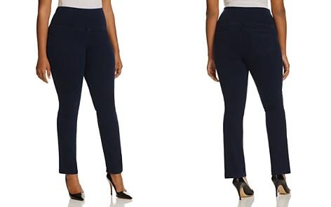 Lyssé Plus Straight Denim Pants - Bloomingdale's_2