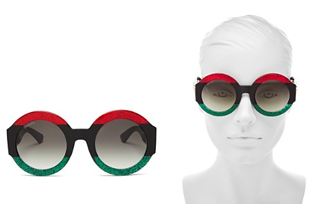 Gucci Women's Oversized Round Sunglasses, 51mm - Bloomingdale's_2