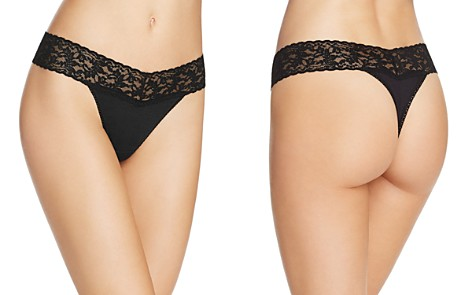 Hanky Panky Cotton with a Conscience Original-Rise Thong - Bloomingdale's_2