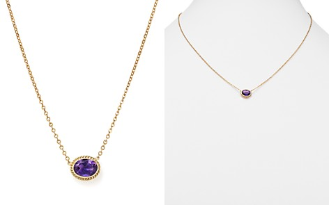 """Gemstone Pendant Necklace in 14K Yellow Gold, 18"""" - 100% Exclusive - Bloomingdale's_2"""