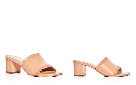 Bernardo Women's Blossom Leather Block Heel Slide Sandals - Bloomingdale's_2