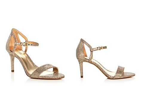 MICHAEL Michael Kors Simone Glitter High-Heel Sandals - Bloomingdale's_2