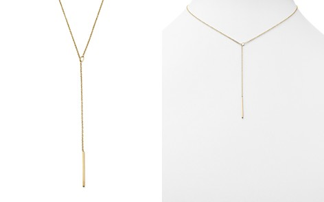 Zoë Chicco 14K Yellow Gold Choker with Threader Bar - Bloomingdale's_2