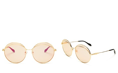 Sonix Oasis Mirrored Round Sunglasses, 60mm - Bloomingdale's_2