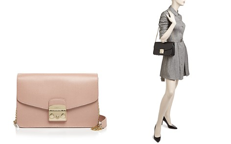 Furla Metropolis Small Leather Shoulder Bag - Bloomingdale's_2
