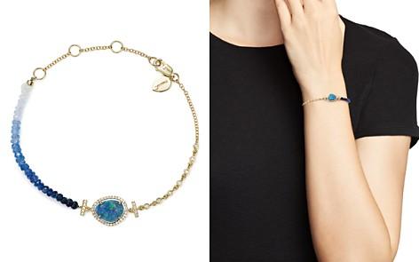 Meira T 14K Yellow Gold Opal & Blue Sapphire Bead Bracelet - Bloomingdale's_2