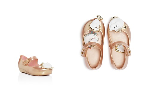 Mini Melissa Girls' Ultragirl Beauty and the Beast Mary Jane Flats - Toddler, Little Kid, Big Kid - Bloomingdale's_2
