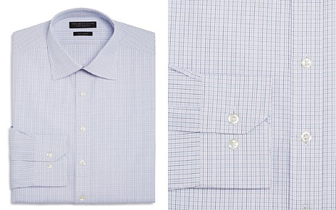 The Men's Store at Bloomingdale's Multi Grid Regular Fit Dress Shirt - 100% Exclusive_2