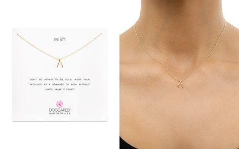 "Dogeared Wish Necklace, 16"" - Bloomingdale's_2"